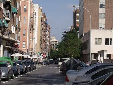 La Policía Local detuvo a las dos mujeres en la calle Juan de Garay