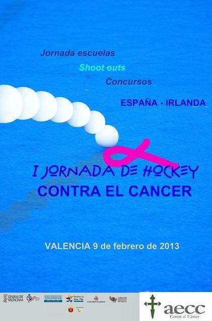 Cartel de la jornada contra el cáncer que tendrá lugar mañana/fhcv