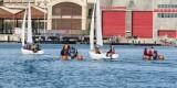 Un grupo de embarcaciones en la dársena de la Marina Real Juan Carlos I/FMVV