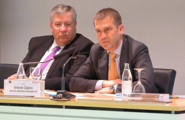 El director general de Energía, Antonio Cejalvo