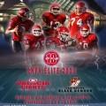 Cartel anunciador del encuentro del próximo domingo, 3 de enero, en El Saler/Valencia Giants