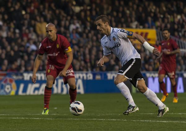 Soldado fue una vez más el motor y el autor del segundo gol/Isaac Ferrera