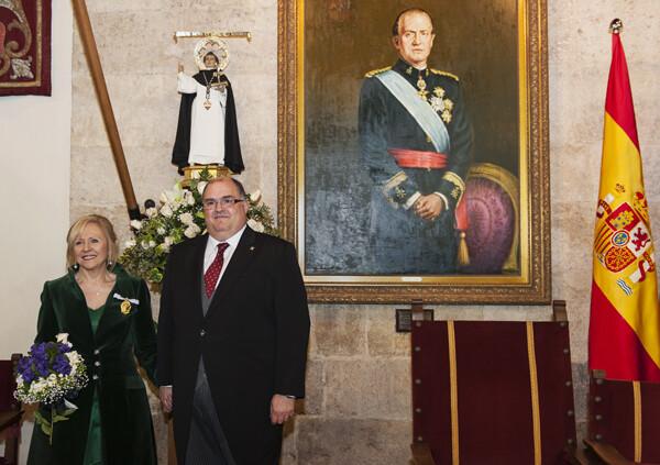 El mantenedor ha sabido glosar la figura del patrón conjugándolo con el de la honorable y los altares/Isaac Ferrera