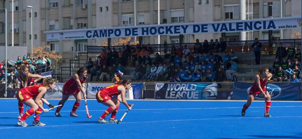 España realizó un buen encuentro y volverá a la pista el jueves contra Italia/Isaac Ferrera