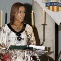 Lola Johnson durante la lectura de El Tirant en Na Jordana
