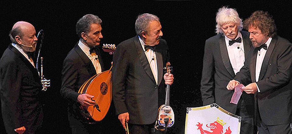 Lutherapia, de Les Luthiers, en el Palau de Congresos de Valencia