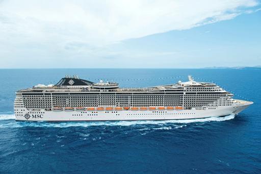 El MSC Splendida tendrá como puerto base Valencia entre marzo y noviembre/MSC Cruceros