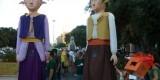 Elgs Gegants de Sant Marcel.li en las fiestas del barrio del año pasado y que hoy recorrerán las calles de Benimaclet/aavv sant marcel.li