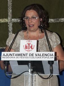 Reyes Marti agradece el tributo que le rindió las Fallas en el Hotel Abba Acteón/Isaac Ferrera