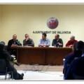Los dirigentes policiales en la rueda de prensa/SPLBB