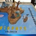 Tarta conmemorativa del 5º aniversario de Bioparc Valencia
