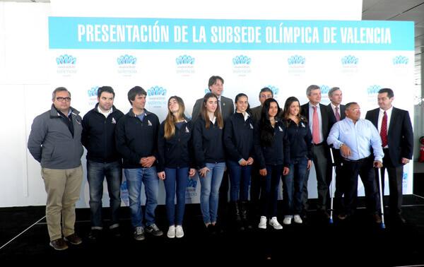 Presentación de Valencia como subsede olímpica de Madrid 2020