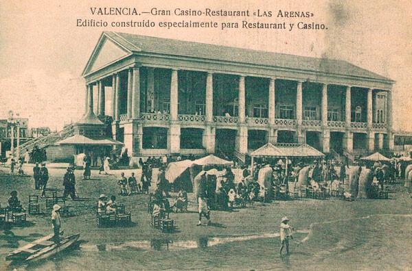 Balneario de las arenas, otros tiempos... / Archivo fotográfico de Rafael Solaz