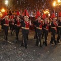 Banda de Sant Luis Bertrán en la Cabalgata de Reyes de Valencia/bccytt Sant Luis Bertrán