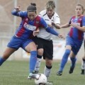 Bernauer durante un encuentro con el Valencia Femenino C.F./jorge ramirez