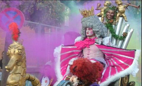 Un momento del desfile de Carnaval de Madrid de pasadas ediciones/madridarteycultura