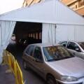 Cerca de 550 calles de Valencia cortadas por fallas y se montarán 240 carpas