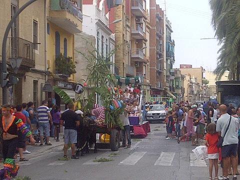 Cabalgata de las fiestas de la pedanía de Castellar