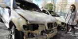 Uno coche quemado en una calle el año pasado/vlcciudad