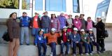 VIsita de los alumnos del Colegio Santo Ángel de la Guarda a la sede de FGV