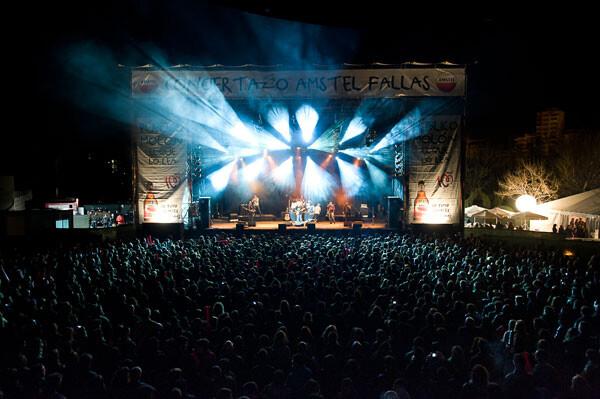 Conciertazo Amstel Fallas, en su edición 2012. Foto: Amstel
