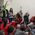 Alegría en el Salón de Actos de la Junta Central Fallera. FOto: Josep V. Zaragoza, JCF