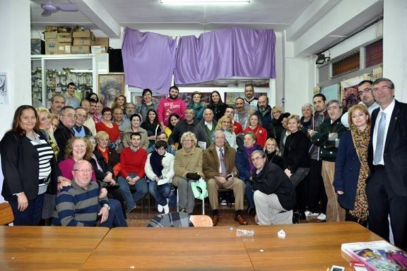 Asistentes a la cena anual de entrega del galardón EOS/rafa montesinos