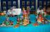 El Centro Comercial El Saler alberga también la exposición de las maquetas presentadas al concurso de Pintor Stolz Burgos. Foto: Ciberfallas