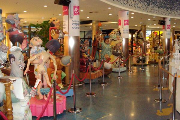 Exposición de Maquetas y Ninots en el Centro Comercial El Saler 2013