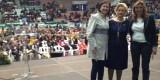 La consellera de Cultura, la presidenta de la FECA y la consejera de Presidencia de la Junta