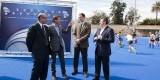 El presidente de la federación, el responsable del campeonato, el gerente de la FMD y el concejal de Deportes en la presentación/ayto valencia
