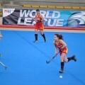 España sigue sumando confianza en el hockey femenino/fehcv