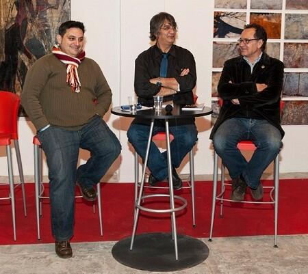 Manuel Furió, Jimy Entreaigües y Vicent Vercher