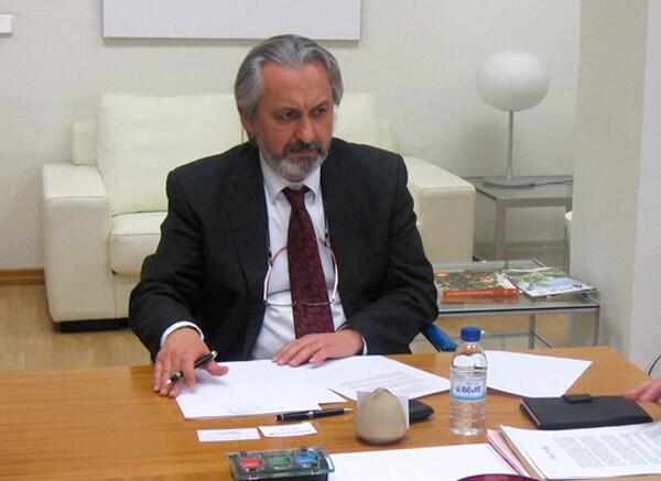 El secretario autonómico de Agricultura, Pesca, Alimentación y Agua, Joaquín Vañó