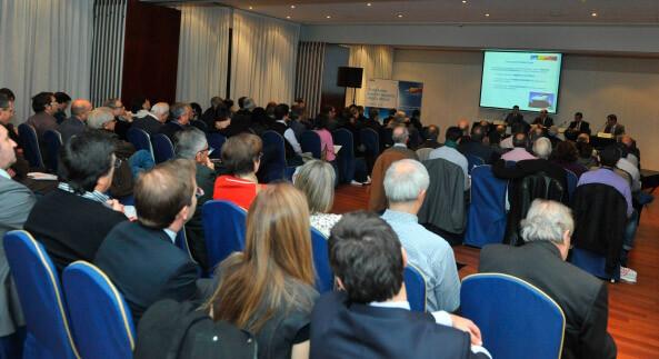 Jornada sobre inversión en energía solar, celebrada en Barcelona