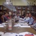 Jóvenes de las casas y centros regionales de Valencia en la reunión preparatoria de la jornada/vlcciudad