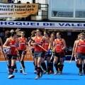 Las jugadoras de la Selección Española de Hockey en el Betero/fvhcv