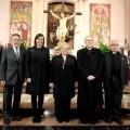 Mª José Catalá, junto a Carlos Osoro y los populares Paco Lledó, Alfonso Grau y Juan Cotino