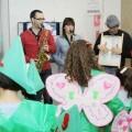 Los niños hospitalizados en La Fe celebran el Carnaval