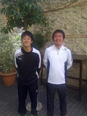 El capitán del equipo y el segundo entrenador/vlcciudad