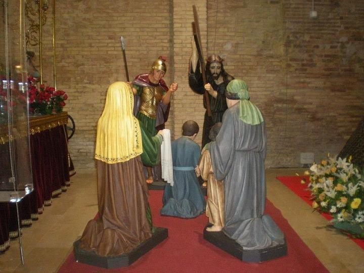 El paso de los Longinos en el museo de la Semana Santa Marinera/ssmv