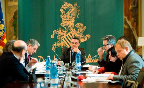 Reunión del consejo rector del Patronato Provincial de Turismo València, Terra i Mar