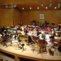 Un momento de la actuación del grupo de percusión/AMP