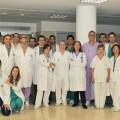 Personal de trasplantes renales del Hospital La Fe, de Valencia