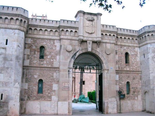 Pórtico de entrada de San Miguel de los Reyes, Valencia
