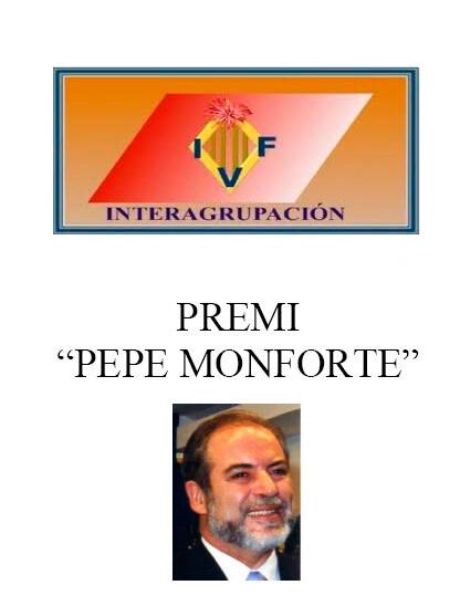 V edición de los Premios Pepe Monforte