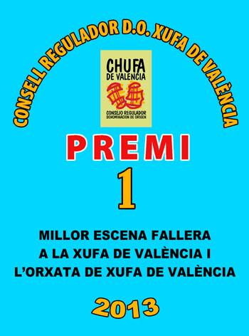 Cartel anunciador dels Premis Xufa de València