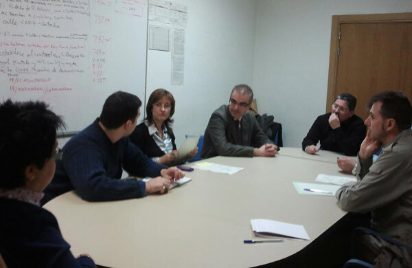 Reunión de CERMI CV con la EMT