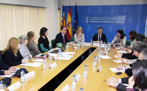 Reunión del proyecto europeo para proteger a niños testigos de violencia en el seno familiar