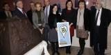 Las distintas autoridades en la presentación de la ruta virtual sobre Mariano Benlliure/ayto valencia